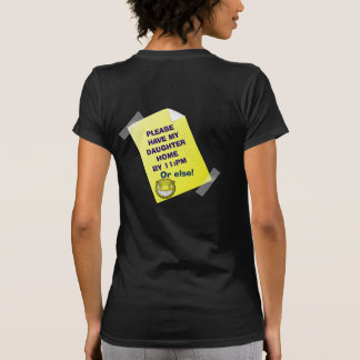 Daughter Curfew - Teen T-shirt