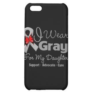 Daughter - Gray Ribbon Awareness iPhone 5C Cover