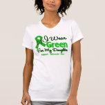 Daughter - Green  Awareness Ribbon Shirts