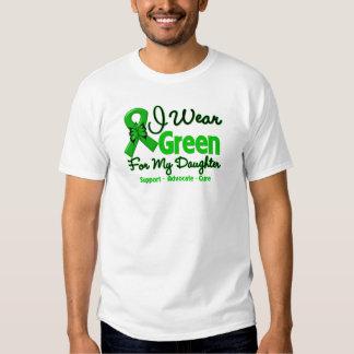 Daughter - Green  Awareness Ribbon T-Shirt