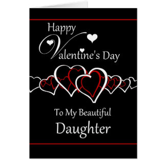Daughter   Happy Valentineu0026#39;s Day Card
