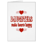 Daughter Hearts Card