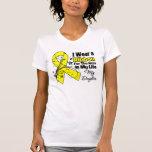 Daughter Hero in My Life Sarcoma T-Shirt