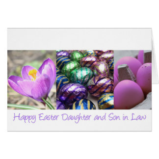Daughter and husband easter gifts on zazzle daughter amp husband happy easter card negle Image collections