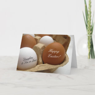 Daughter and husband easter gifts on zazzle daughter husband happy easter holiday card negle Images