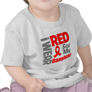 Daughter - I Wear Red Ribbon Shirt