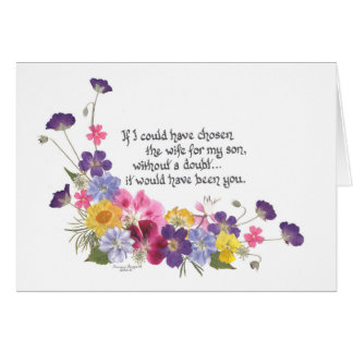 Daughter-in-Law Cards