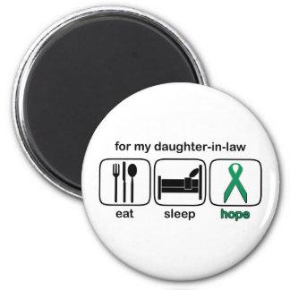 Daughter-in-law Eat Sleep Hope - Kidney Cancer Magnet