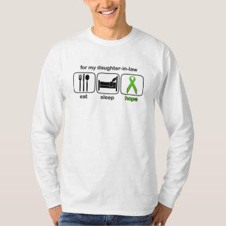 Daughter-in-law Eat Sleep Hope - Lymphoma T-Shirt