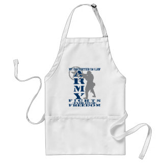 Daughter-in-law Fights Freedom - ARMY Adult Apron