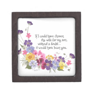 Daughter-in-Law gift Jewelry Box