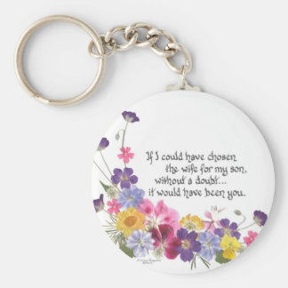 Daughter-in-Law gift Keychain