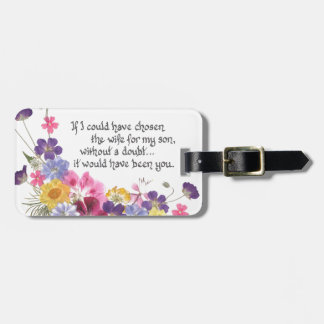 Daughter-in-Law gift Tag For Luggage