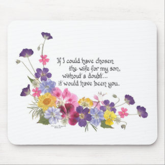 Daughter-in-Law gift Mousepads