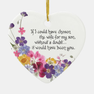 Daughter-in-Law gift Christmas Ornaments