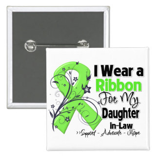 Daughter-in-Law - Lymphoma Ribbon Pinback Button