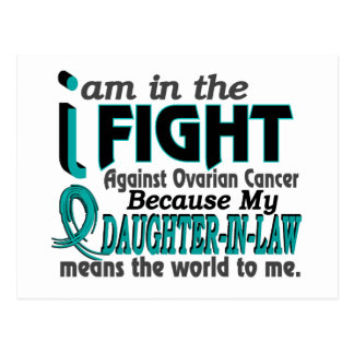 Daughter-In-Law Means World To Me Ovarian Cancer Postcards
