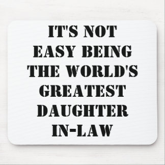 Daughter-In-Law Mouse Pad