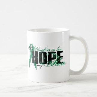 Daughter-in-law My Hero - Kidney Cancer Hope Coffee Mug