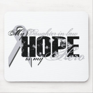Daughter-in-law My Hero - Lung Hope Mouse Pad