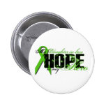 Daughter-in-law My Hero - Lymphoma Hope Button