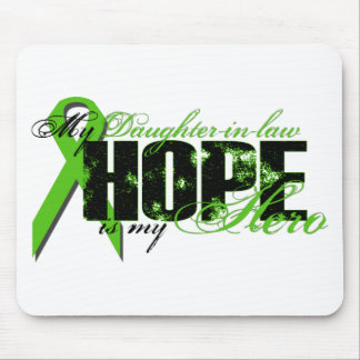 Daughter-in-law My Hero - Lymphoma Hope Mouse Pad
