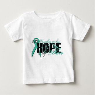 Daughter-in-law My Hero - Ovarian Hope Tshirt