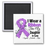 Daughter-in-Law - Pancreatic Cancer Ribbon Refrigerator Magnets