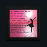 "Daughter in Law Poem - Ballerina Jewelry Box<br><div class=""desc"">A great gift for a daughter in law.</div>"