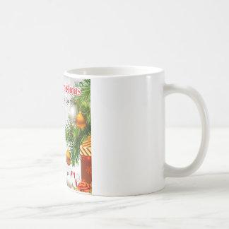 Daughter in Law Poem - Christmas Design Coffee Mug