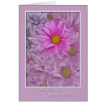 Daughter-in-law's Birthday with Gerbera  Daisies Card