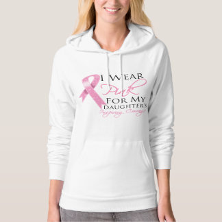 Daughter Inspiring Courage Breast Cancer Pullover