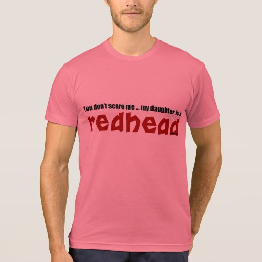 Daughter is a Redhead Tshirts