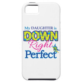 Daughter is Down Right Perfect iPhone SE/5/5s Case