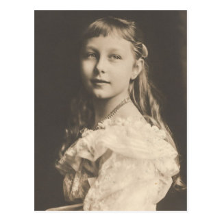 DAUGHTER Kaiser Wilhelm II of Germany #028D Postcard