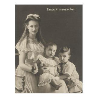 DAUGHTER Kaiser Wilhelm II of Germany #030D Postcard