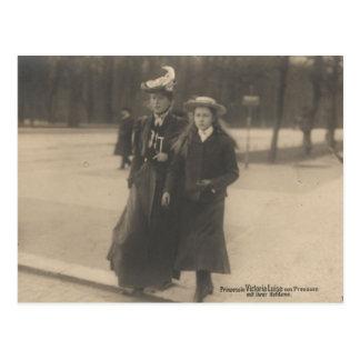 DAUGHTER Kaiser Wilhelm II of Germany #037D Postcard