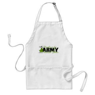 Daughter Law Combat Boots - ARMY Adult Apron