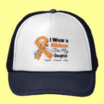 Daughter - Leukemia Ribbon Trucker Hat