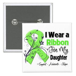 Daughter - Lymphoma Ribbon Pinback Button