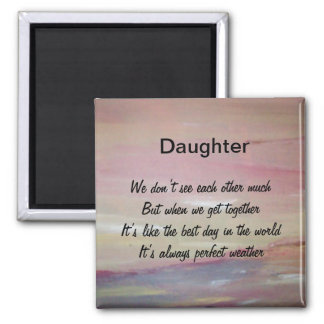 Daughter Fridge Magnet