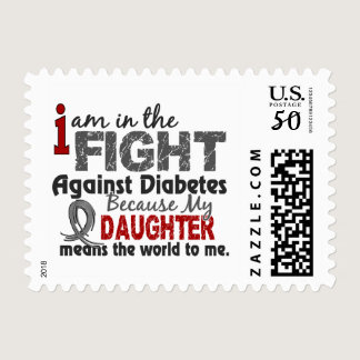 Daughter Means World To Me Diabetes Postage