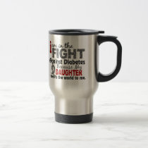 Daughter Means World To Me Diabetes Travel Mug