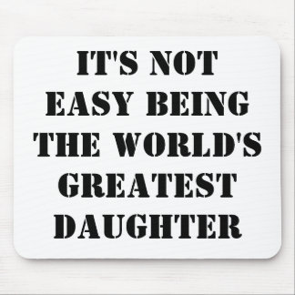 Daughter Mouse Pad