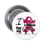 Daughter - Multiple Myeloma Ribbon 2 Inch Round Button