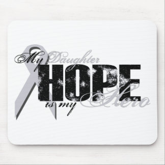 Daughter My Hero - Lung Hope Mouse Pad
