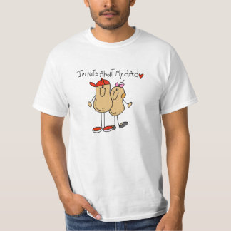 Daughter - Nuts About My Dad T-shirts and Gifts