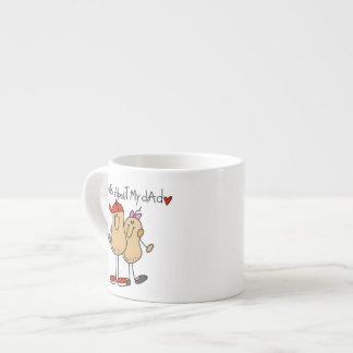 Daughter - Nuts About My Dad T-shirts and Gifts Espresso Cup