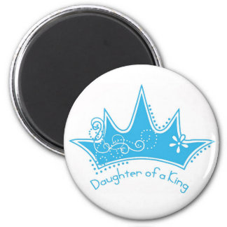 Daughter of a King 2 Inch Round Magnet