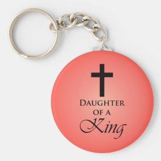 Daughter of a King Keychain